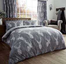 attractive deer bedding sets 7 gray comforter ecrins lodge very fashionable for set king idea 2 garage excellent deer bedding