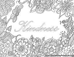 Free printable & coloring pages. Kindness Coloring Pages To Print For Free
