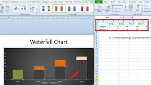 Waterfall Chart Ppt Waterfall Chart In Powerpoint
