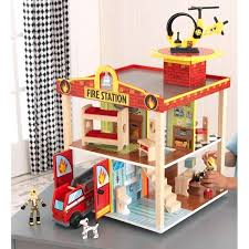 kidkraft fire station set rescue playset multicolor