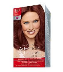 Avon Advance Techniques Professional Hair Colour 5 63 Rich Burgundy