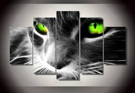 >black cat multiple panel canvas art anjuna lane black cat multiple panel canvas art