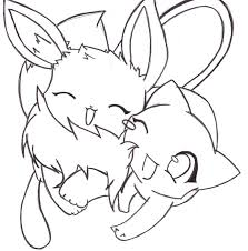 Small Picture Download Coloring Pages Eevee Coloring Pages Eevee And Evolutions