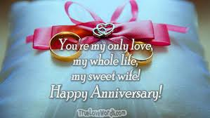 romantic wedding anniversary wishes for