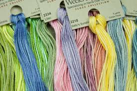 Weeks Dye Works Embroidery Floss 6 Strand 2 Strand 3