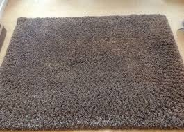 crossley brown stain resistant rug