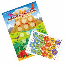 A3 Dinosaur Reward Charts And Stickers
