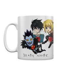 Тэцуро араки (tetsuro araki) по манге: Death Note Chibi Mug Buy Online At Grindstore Com