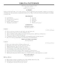 Cashier Duties For Resume Example Of Cashier Resume Example Resume For Cashier Sample