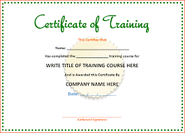 Microsoft Office Training Certificate 8 Microsoft Office Certificate Template Bookletemplate Org