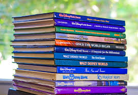walt disney world and disneyland books