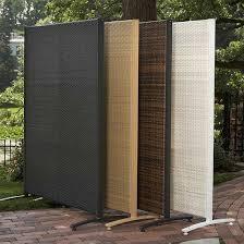 Versare Outdoor Wicker Resin Room Divider - Perfect for your deck or patio,  the Versare Outdoor Wicker Resin Room Divider is comprised of one ...