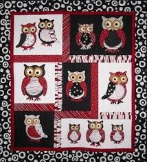 12 best Owl fabric images on Pinterest | Owl quilts, Animal quilts ... & The Owl Parliament Pattern available at http://bay-window.com. Adamdwight.com
