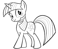 Coloring Pages My Little Pony Coloring Pages Twilight Sparkle