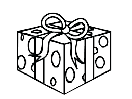 Gift Tag Coloring Page Coloring Pages Presents Jeanettewallis Com
