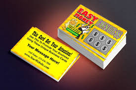 A Business Card That Looks Like A Lottery Ticket Good For All Sorts