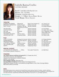 Resume Examples Formats Dance Resume Examples Professional 20 Best Gmail Resume Template