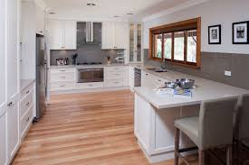 White Kitchens With Wood Floors Kitchen Design Painted Suggestion Contemporary White And Cream