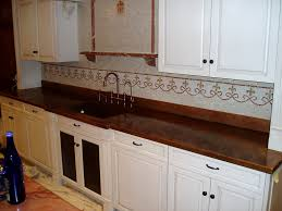 Countertop For Kitchen Copper Countertops Hoods Sinks Ranges Panels By Brooks Custom