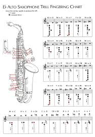 Full Range Clarinet Finger Chart Lovely Alto Saxophone Keys Chart ...