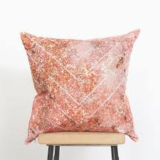 Small Picture Rose Gold Cushion Emodi