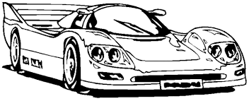 Race Car Coloring Page Free Printable Pages For Cars Monesmapyrenecom