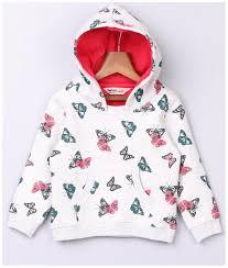 Beebay Size Chart Beebay Girl Cotton Blend Solid Sweatshirt Multi