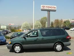 2003 Woodland Green Pearl Toyota Sienna LE #28247085 Photo #3 ...