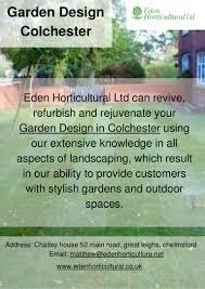 Green Tree Garden Design Ltd Garden Design Colchester