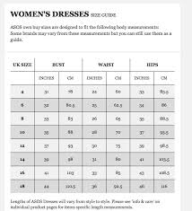 Asos Clothing Size Chart Wheres My Order Review Asos Com Sizing And Customer