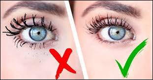 apply mascara to lower eye lashes