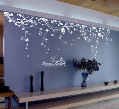 night themes wall decals vines dark colors suitable for living room decorative idea decorative ideas wall