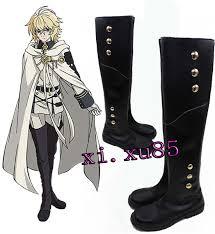 Купить Оптом Серафим Конца Косплей Обувь <b>Микаэла</b> Hyakuya ...