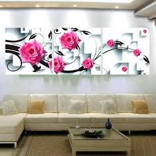 rose wall decor large canvas wall art flower canvas painting rose flower wall decor painting pictures rose wall decor  on rose gold wall art large with rose wall decor pleasing rose wall decor also large paper flower