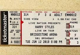 2 Harry Styles Tickets Nashville Tn June 12 2018