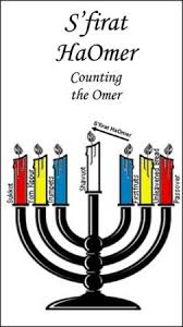 Chart For Counting The Omer Sfirat Haomer Counting The Omer Lost In Translation