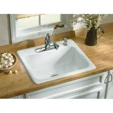 drop in white kitchen sink. Interesting Kitchen 1 2 Throughout Drop In White Kitchen Sink