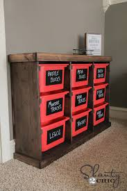 diy storage furniture. DIY Toy Storage Unit Diy Furniture