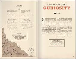 flipsnack brochure double page layout design curiosity