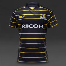 blk wellington lions 2016 training jersey mens rugby replica black yellow
