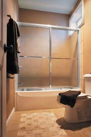 centec sliding door framed sliding tub enclosure