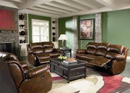 Leather Living Room Green Leather Living Room Furniture Khabarsnet