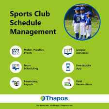 Sports Team Schedule Maker Pin By Thapos Youth Sports Management Software On League