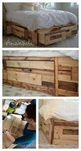 storage bed plans. Ana White | Brandy Scrap Wood Storage Bed With Drawers Diy Projects Pallet Plans Free