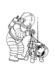 Tintin 6 Coloriage Tintin Coloriages Pour Enfants