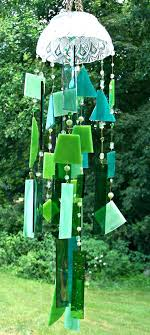 stained glass wind chimes stained glass wind chimes handcrafted stained glass wind chime green by stained
