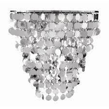 brilliant gleam diy silver disc light shade i n 4370464 bunnings warehouse