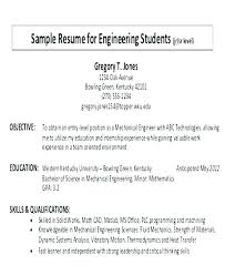 Objective In Resume For Software Engineer Experienced Career Objective Resume Sample Objectives On Job For Writing A Write