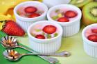 Десерты из фруктов с желатином с фото