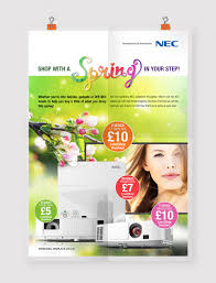 Incentive Flyer Spring Shopping Incentive Flyer By Anna Paczulla Demir For Nec Uk
